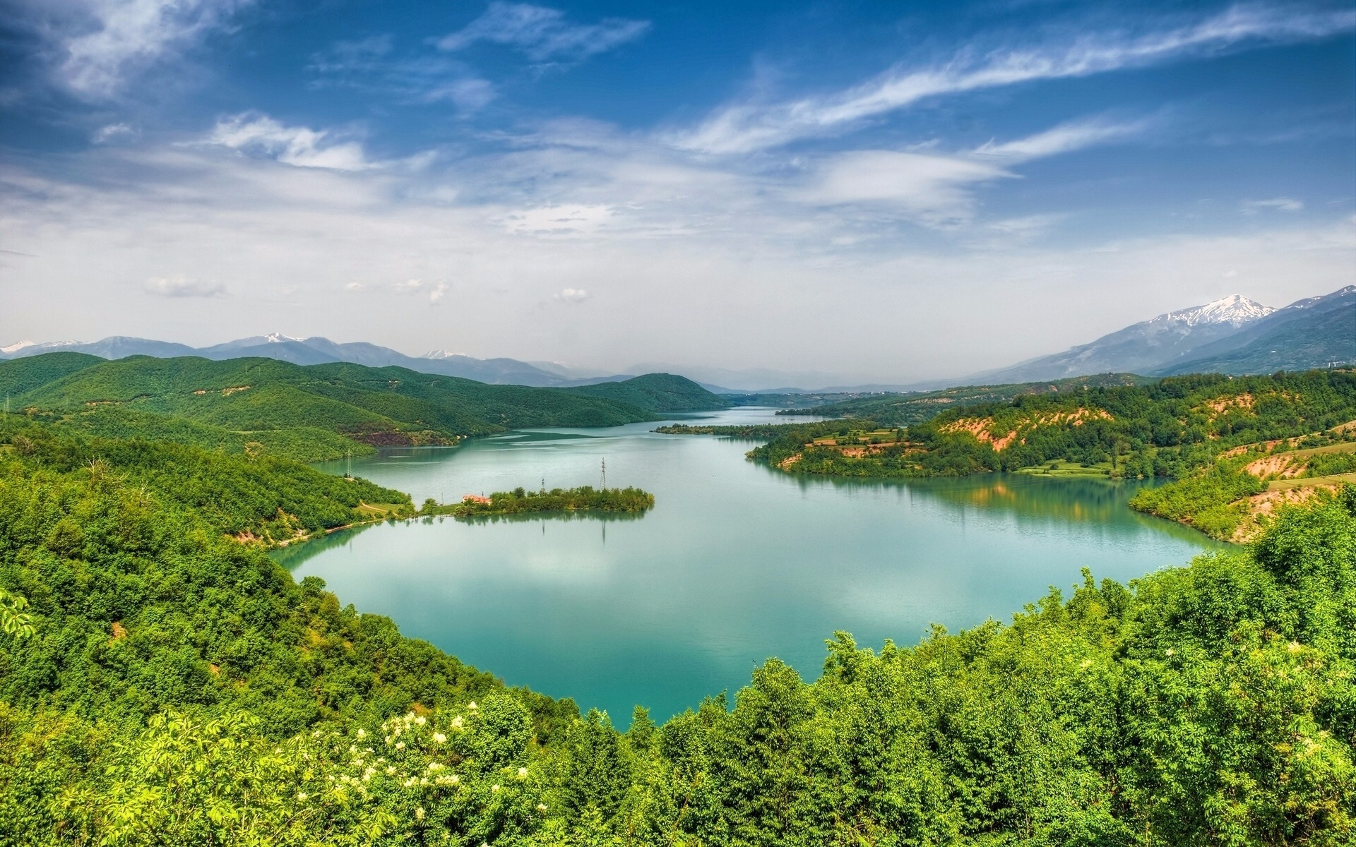 Lac de Debar, Macédoine