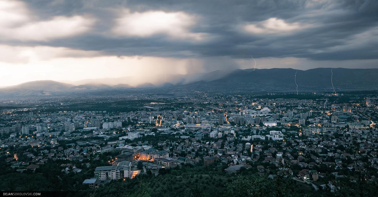 Skopje, capitale de la Macédoine