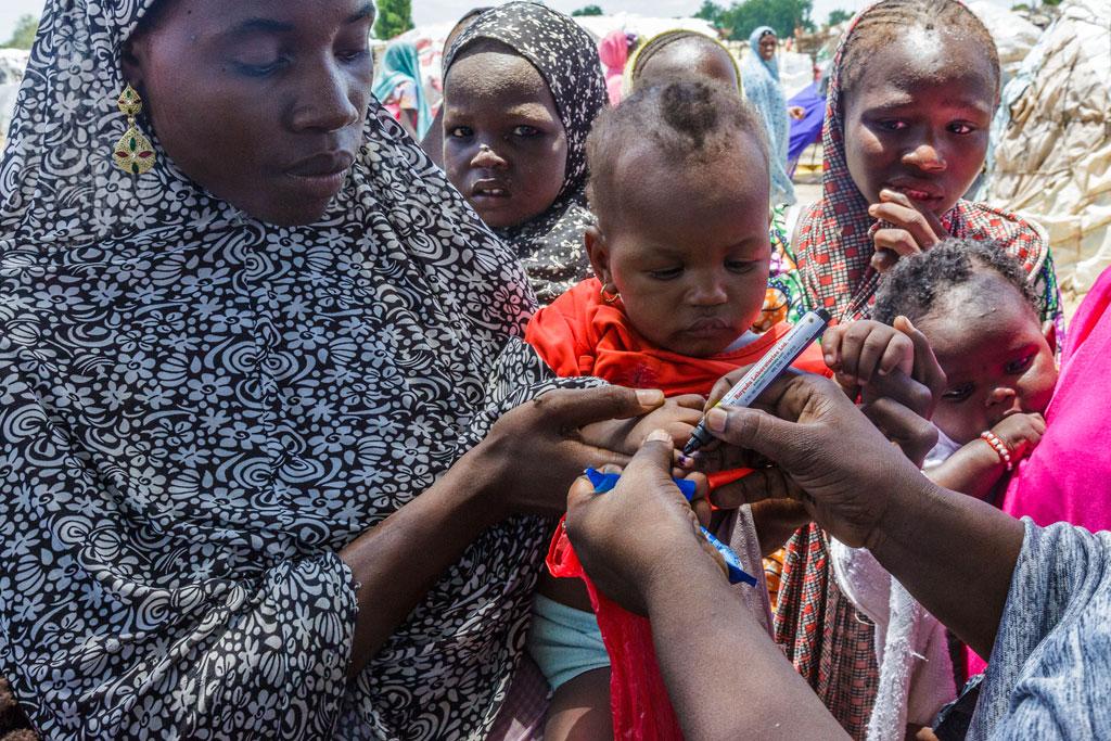 UNICEF - vaccination d'enfant au Nigéria