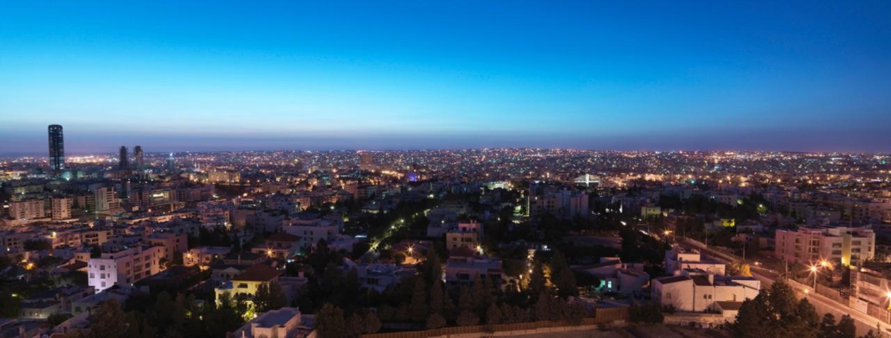 Amman, capitale de la Jordanie