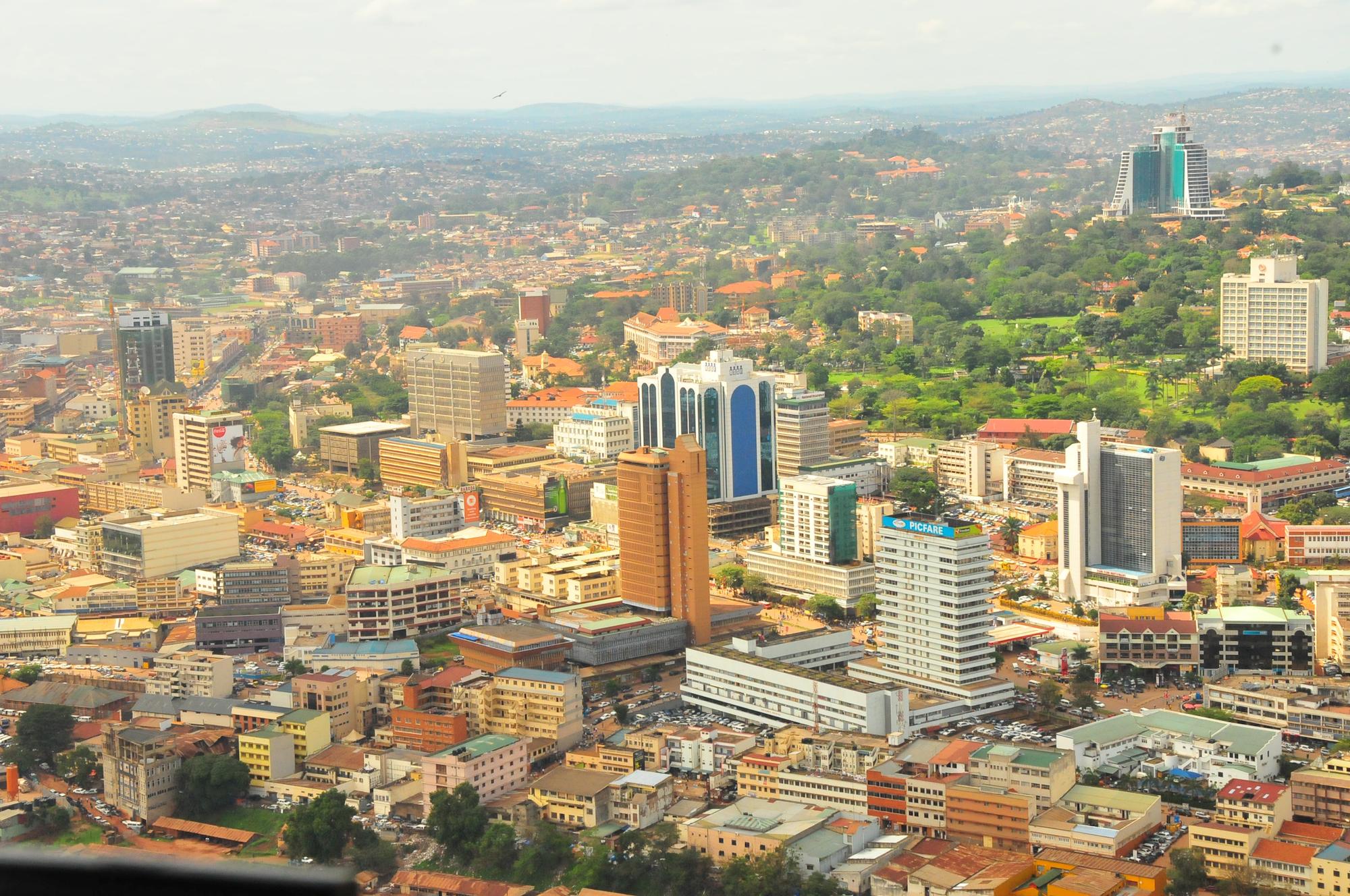Kampala, capitale de l'Ouganda