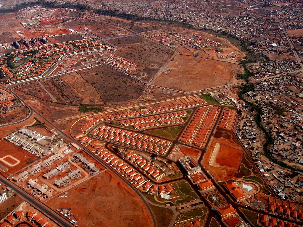 Nouveaux quartiers à Luanda, Angola