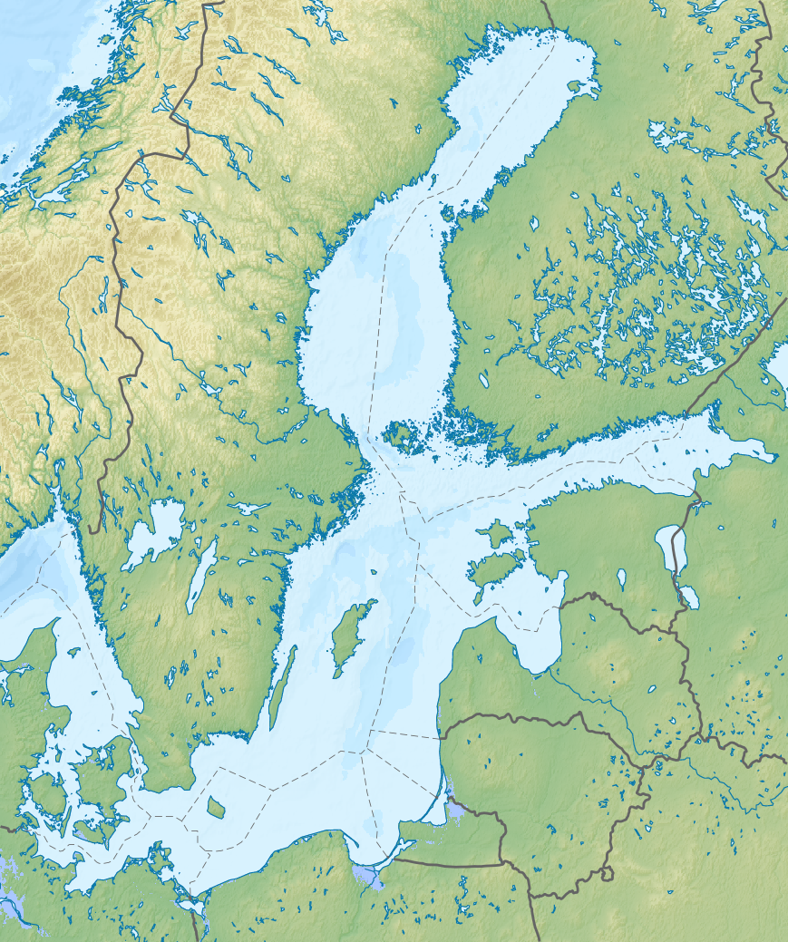 Mar Baltique carte