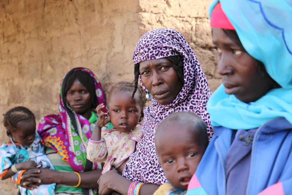 Centrafrique : femmes et enfants souffrant de la faim