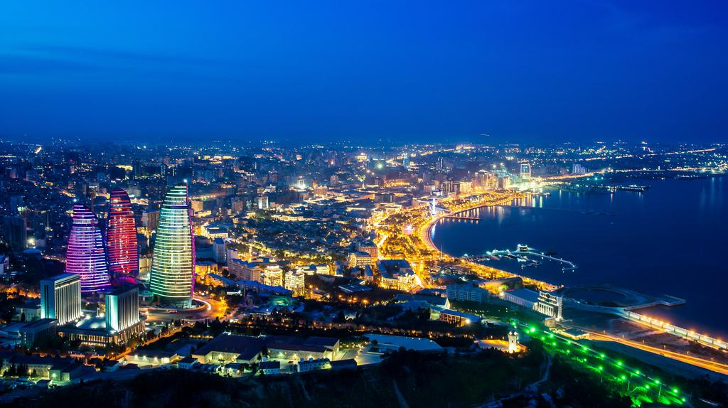 Bakou, capitale de l'Azerbaïdjan