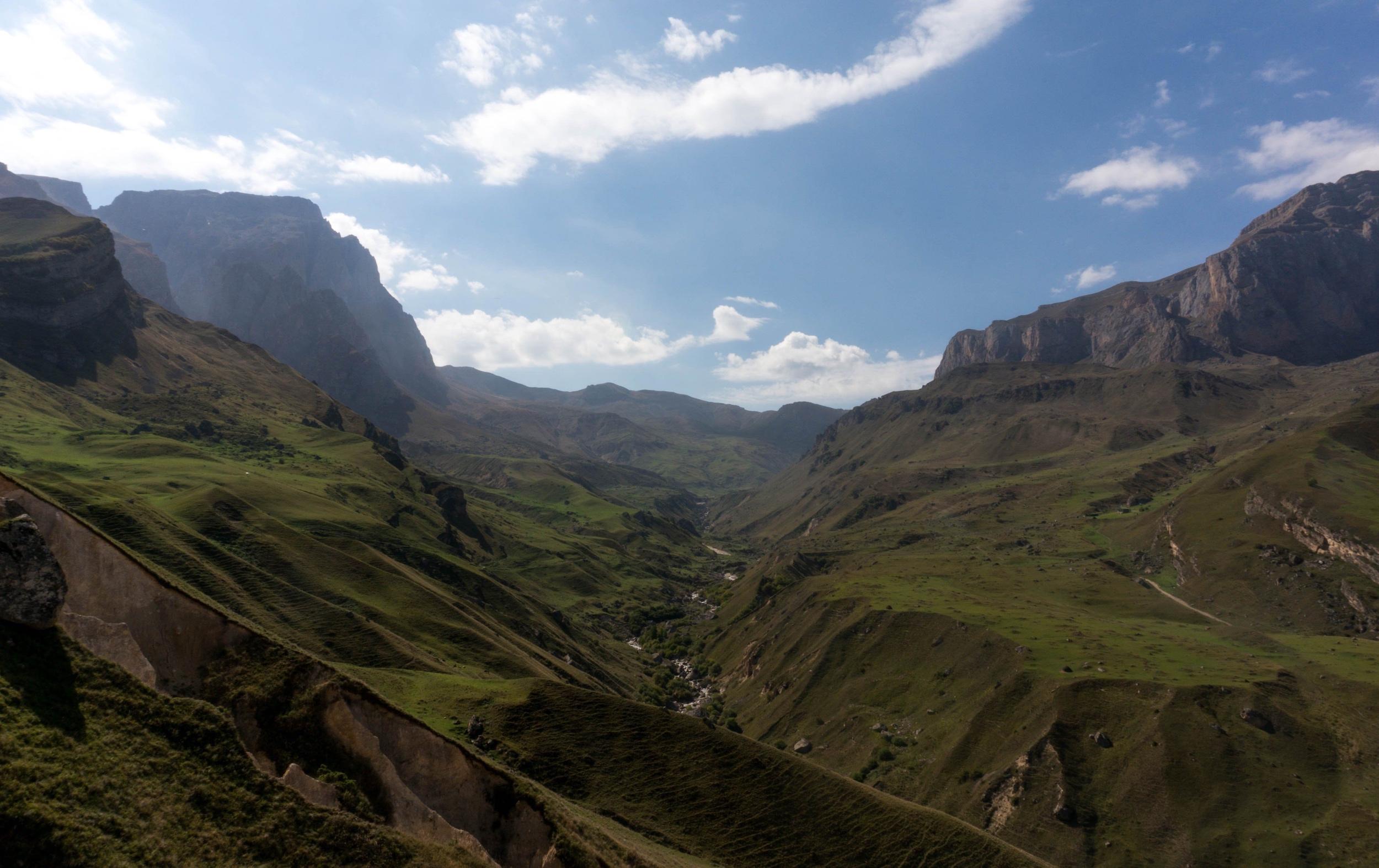 Montagnes en Azerbaïdjan