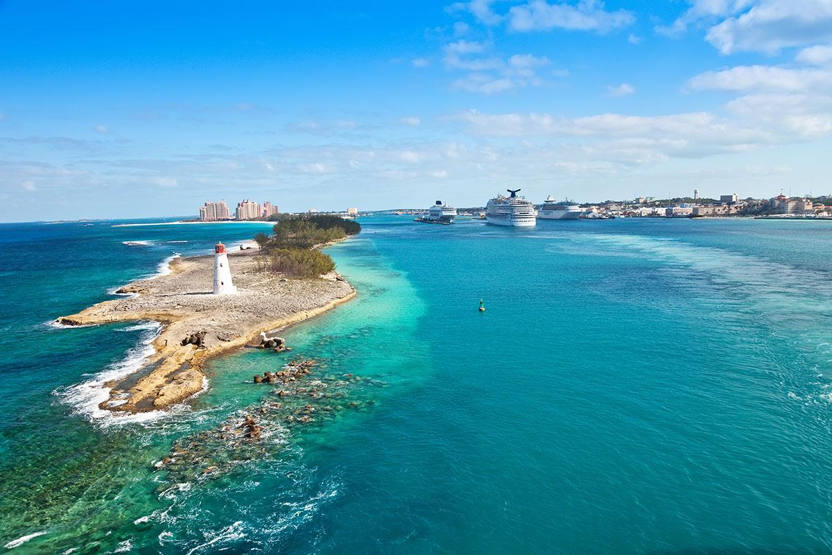 Nassau, capitale des Bahamas