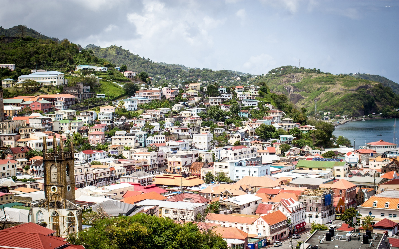 Saint-Georges, capitale de la Grenade
