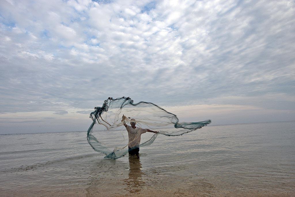 Timor oriental - pêcheur