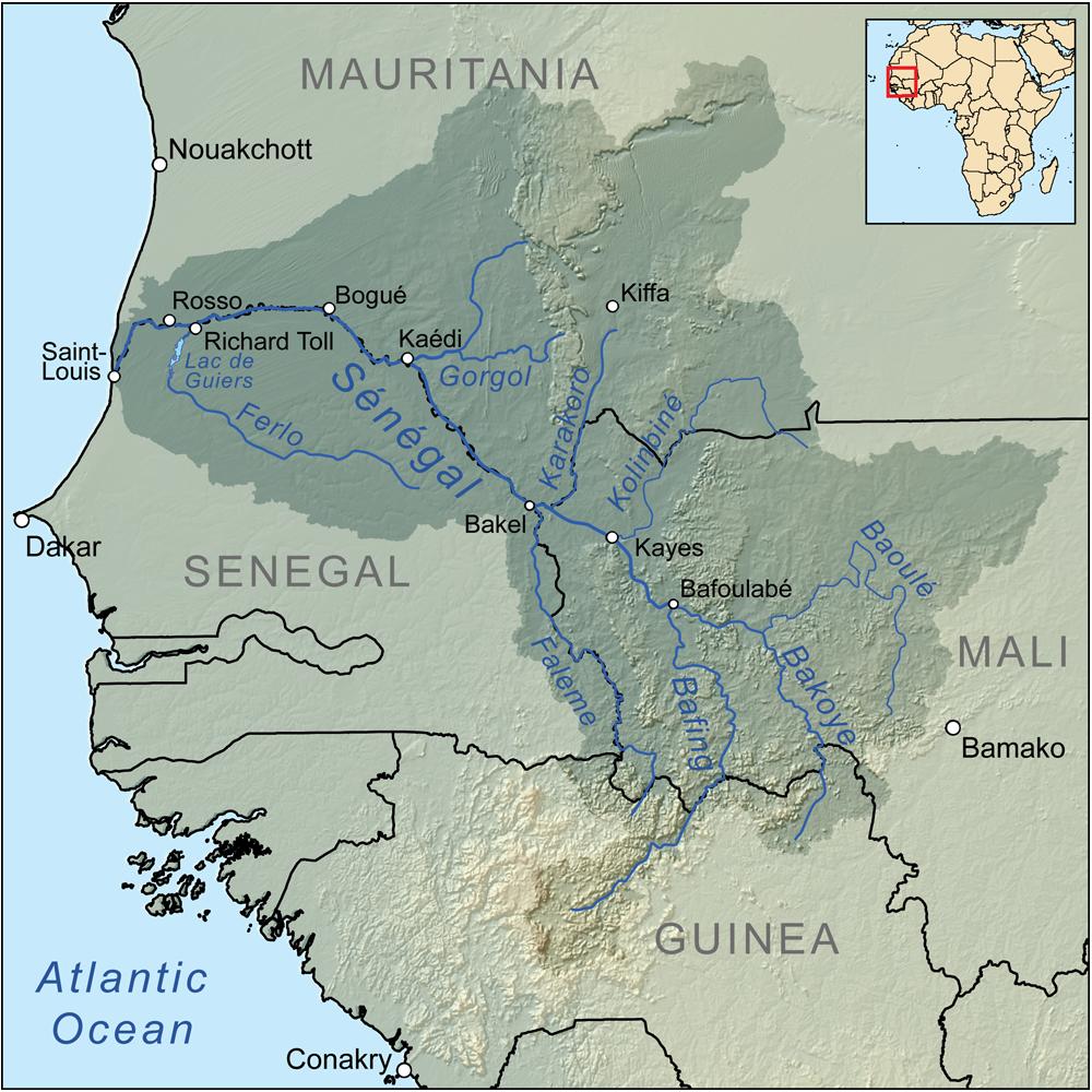 Plus Grandes Villes Senegal