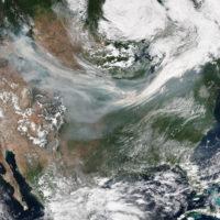 La fumée des feux de forêt en Colombie-Britannique atteint le Québec