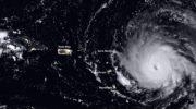 L'ouragan Irma arrive sur les Antilles