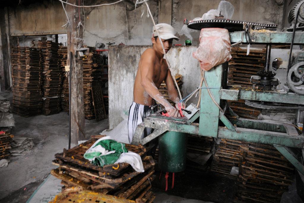 Enfant au travail, Indonésie