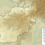 Afghanistan – topographique