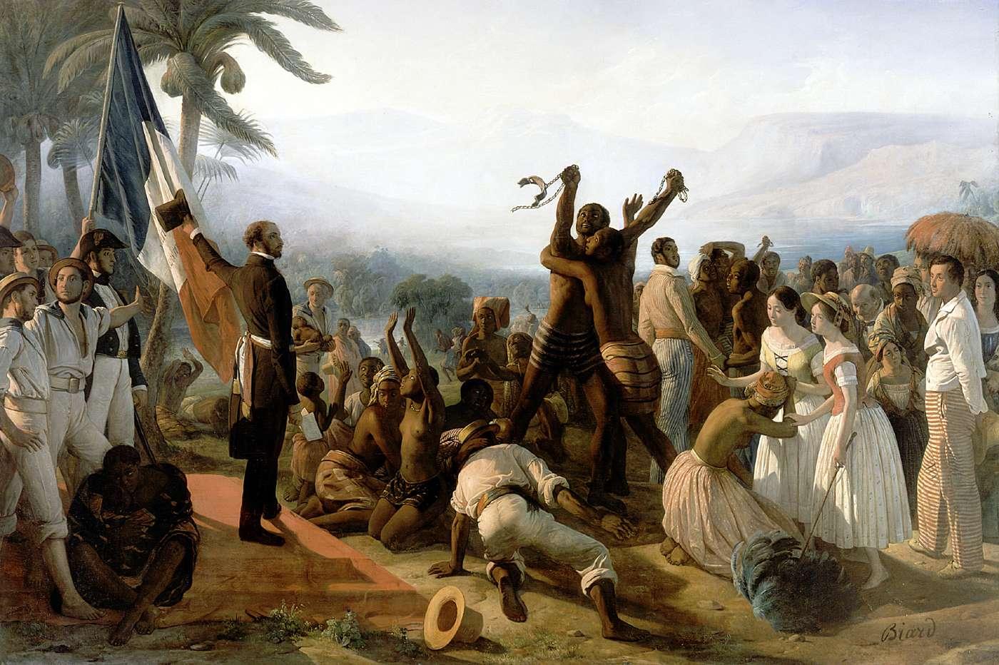 L'abolition de l'esclavage dans les colonies françaises, 27 avril 1848