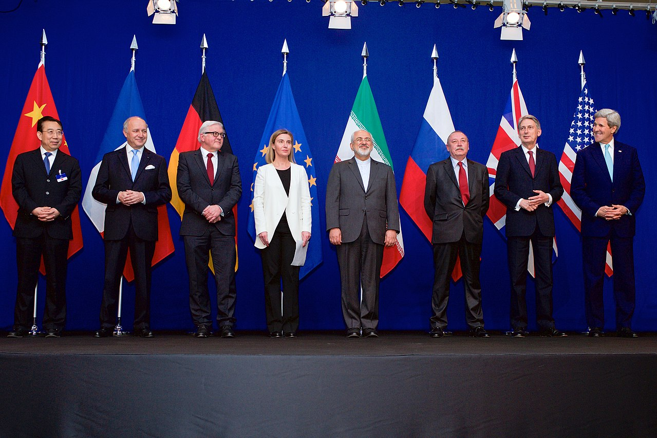 Signature du JCPOA à Vienne, 2015