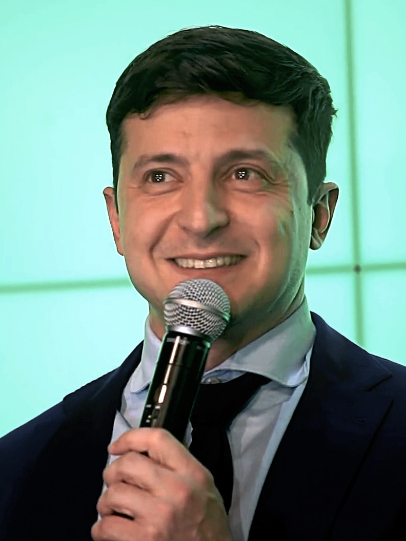 Volodymyr Zelensky le 31 mars 2019
