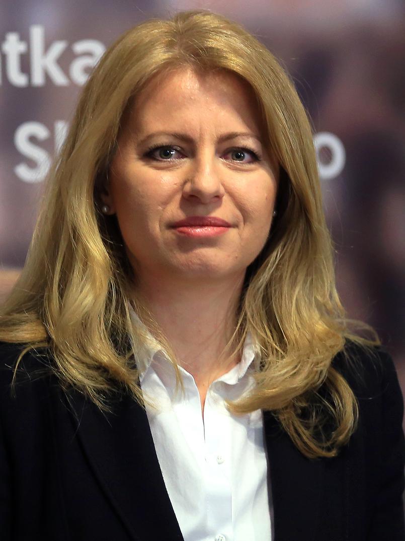 Zuzana Čaputová, présidente de la Slovaquie