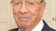 Le président tunisien est mort