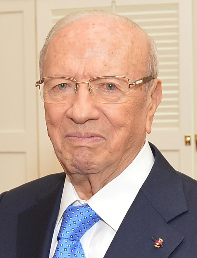 Béji Caïd Essebsi, président de Tunisie de 2014 à 2019