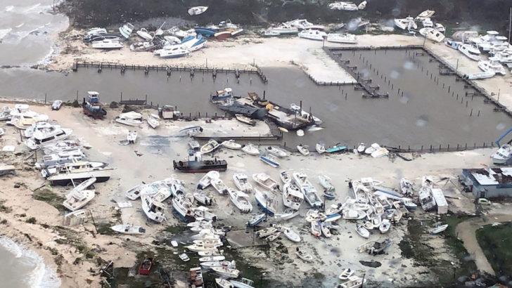 L'ouragan Dorian détruit le nord des Bahamas