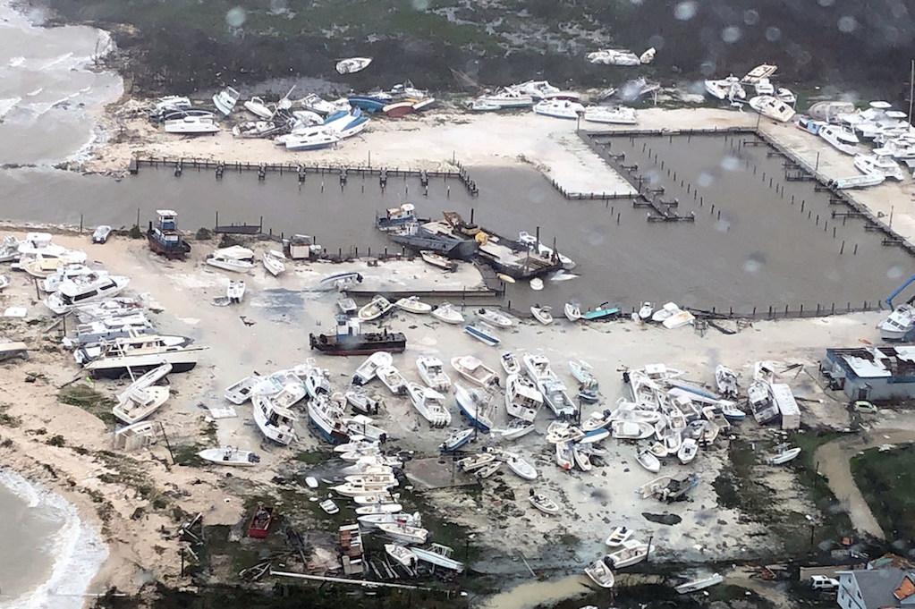 Bahamas - destructions après le passage de l'ouragan Dorian