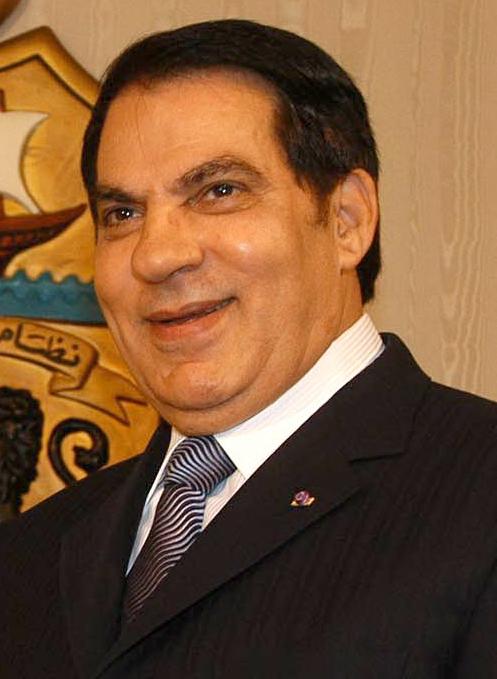 Ben Ali, ancien dictateur de la Tunisie