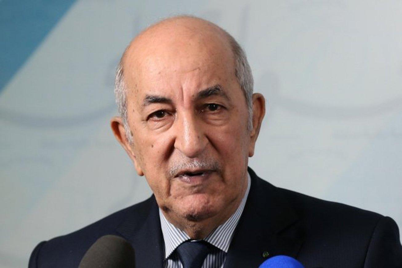 Abdelmadjid Tebboune, président de l'Algérie