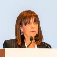Ekateríni Sakellaropoúlou, première femme élue présidente de la république en Grèce