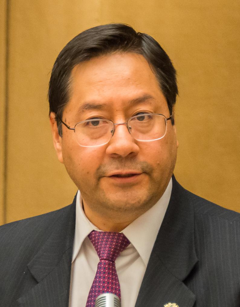 Luis Arce, président de la Bolivie