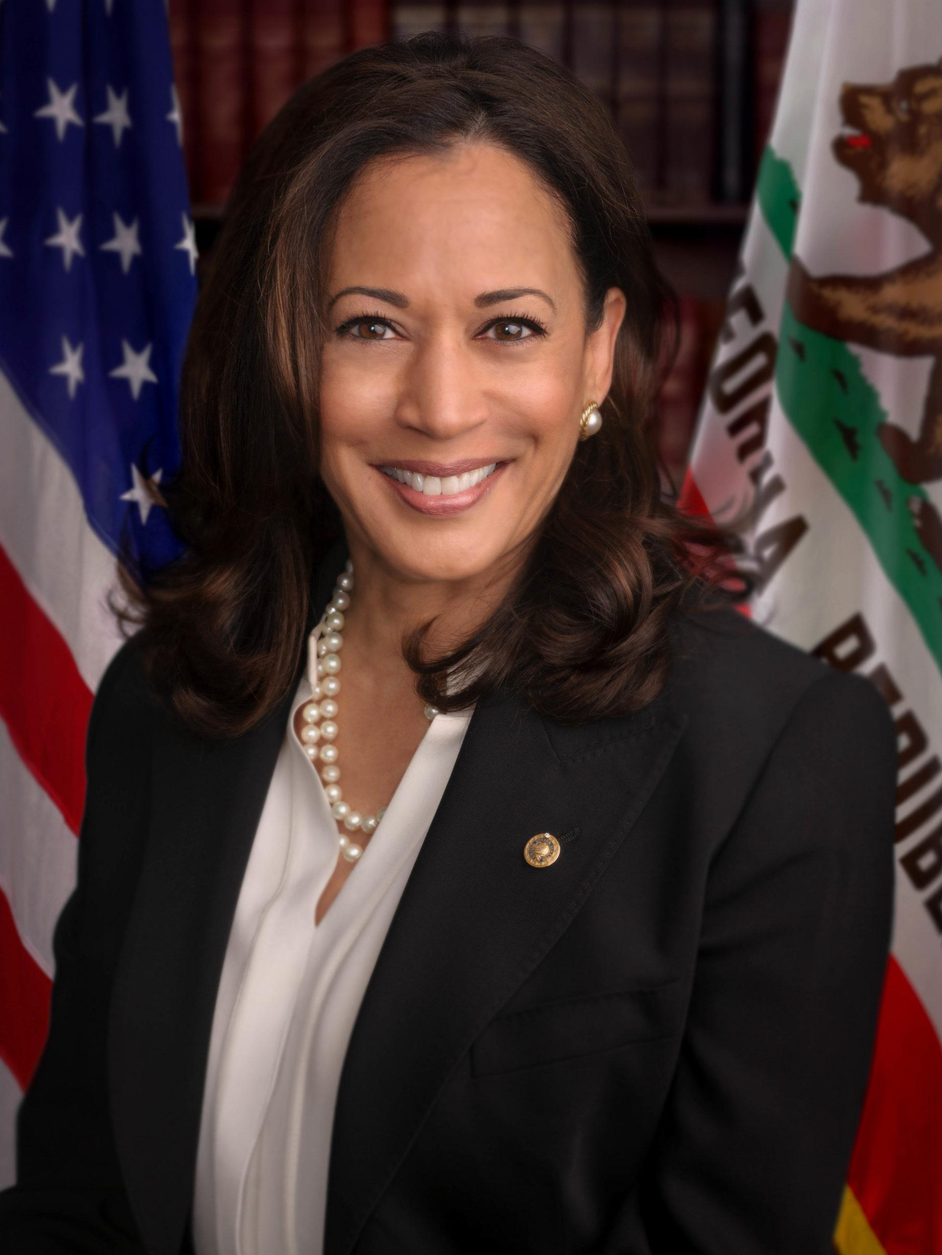 Kamala Harris, vice-présidente des États-Unis