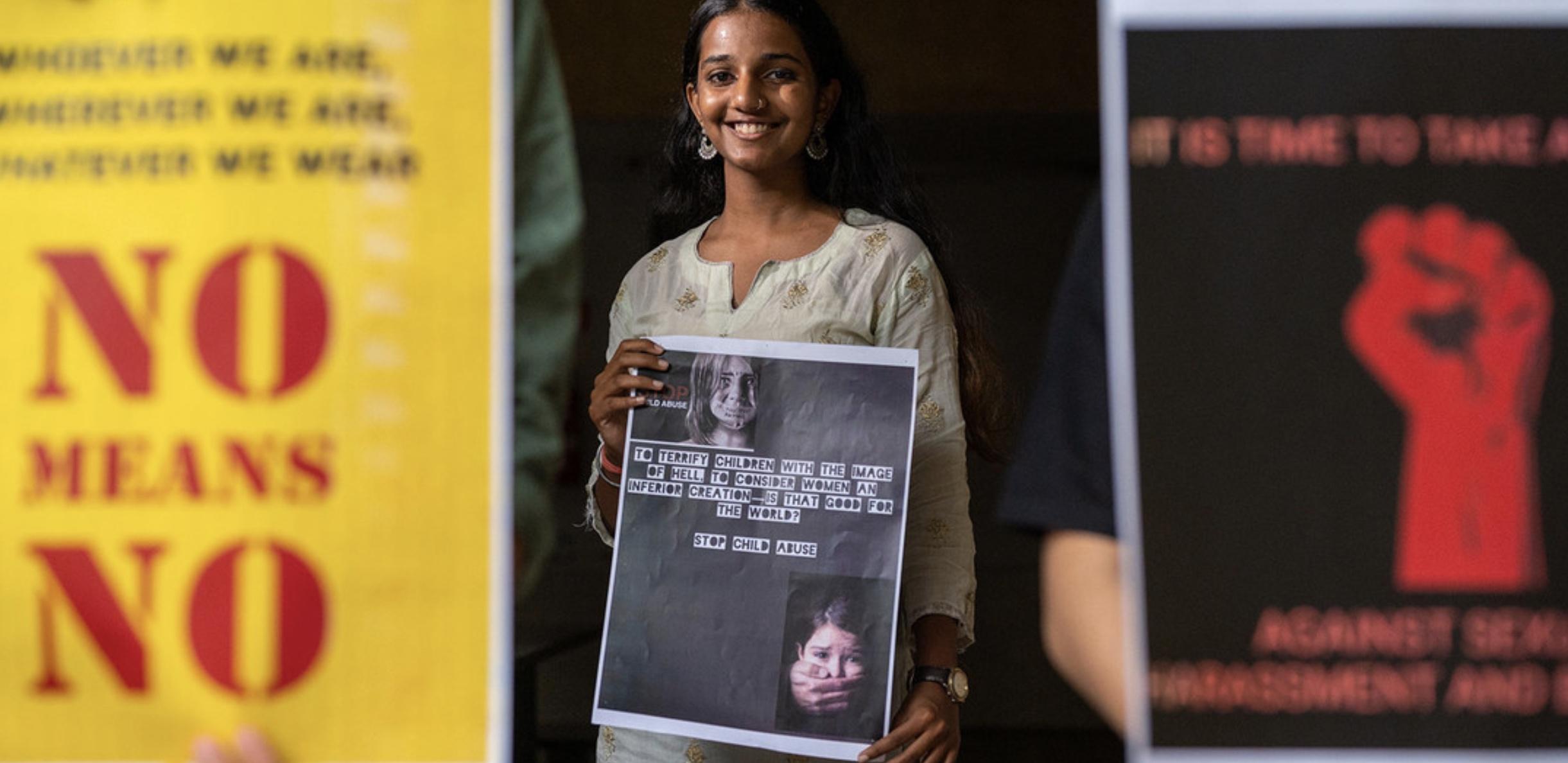 Femme en Inde