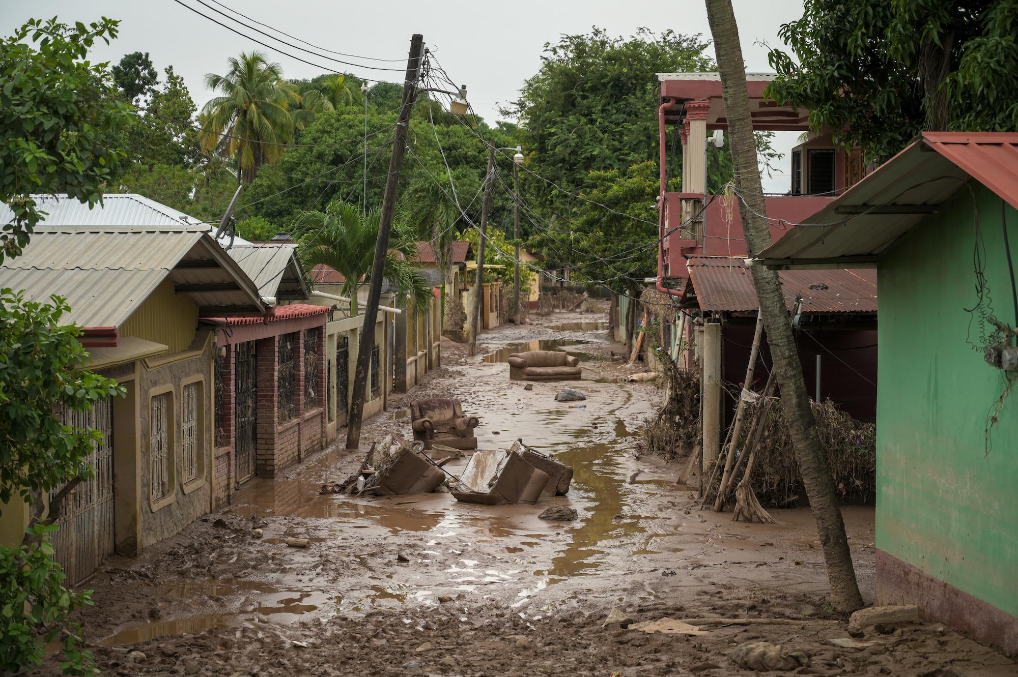 Catastrophe au Honduras