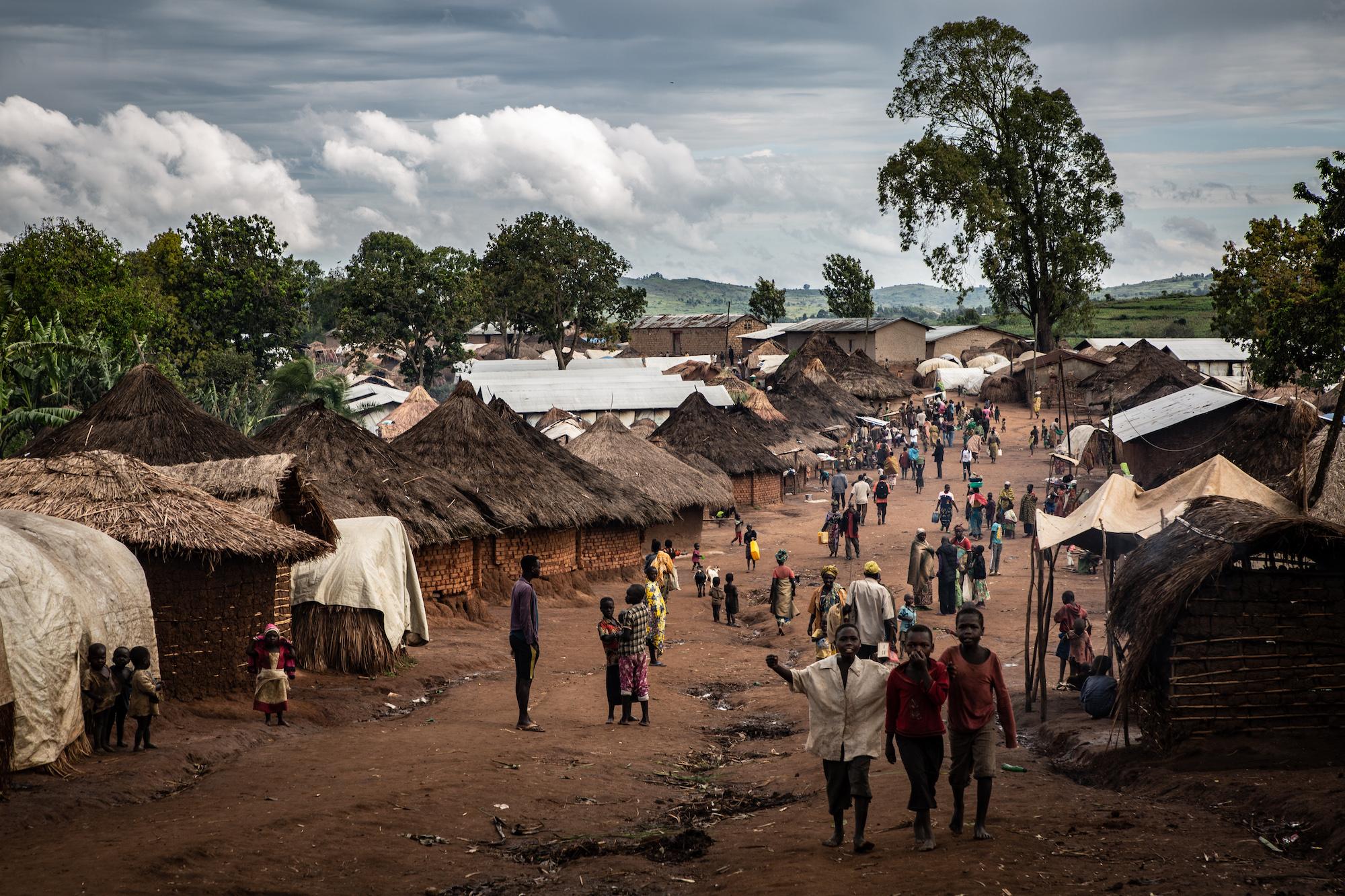 Camp de réfugiés, République démocratique du Congo