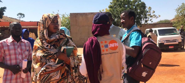 Femmes au Darfour, Soudan