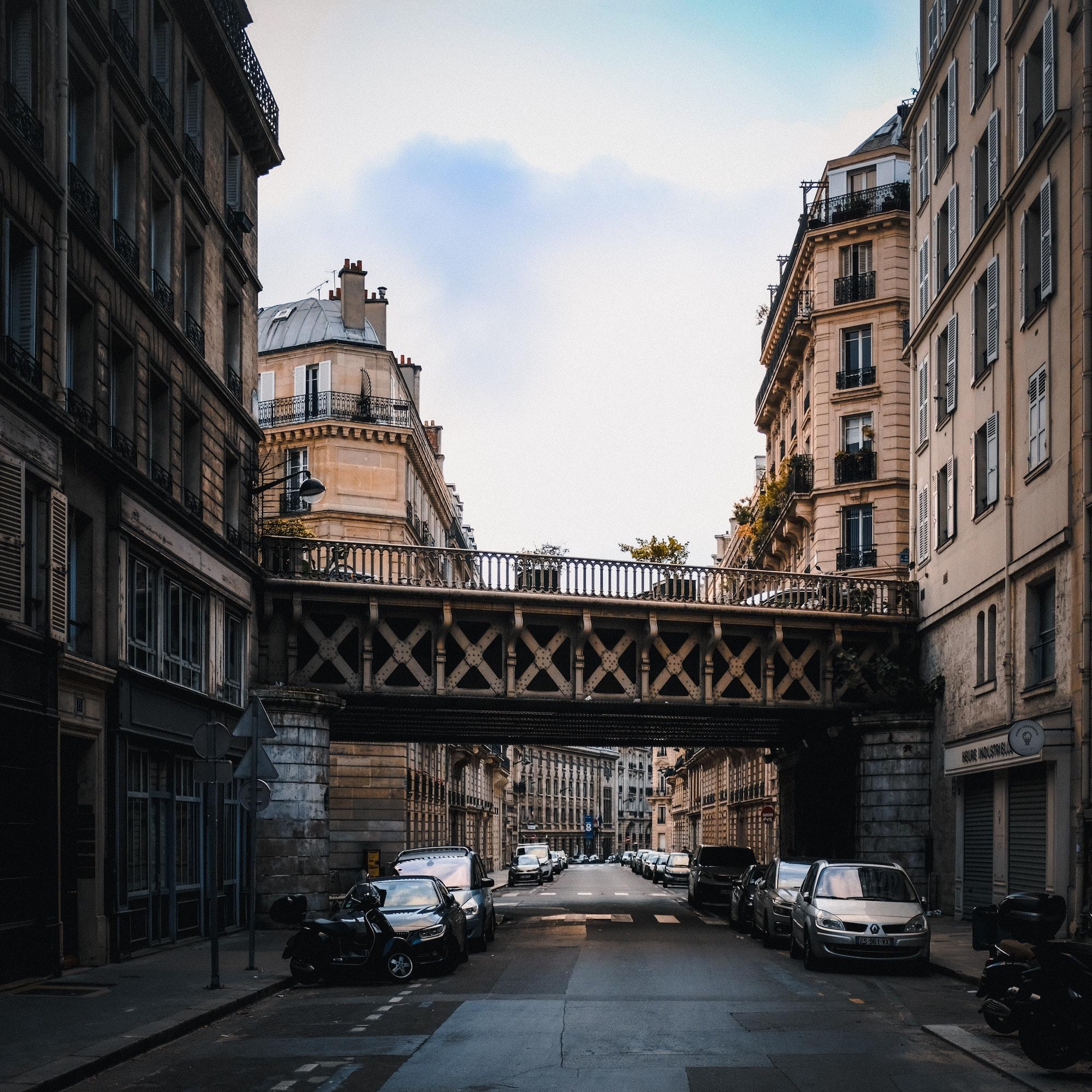 Rue à Paris, France