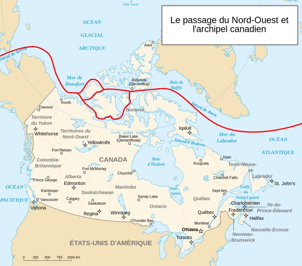 Canada - passage du Nord-Ouest