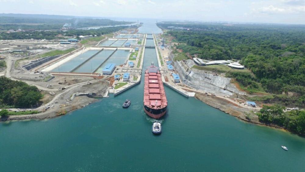Canal de Panama élargi