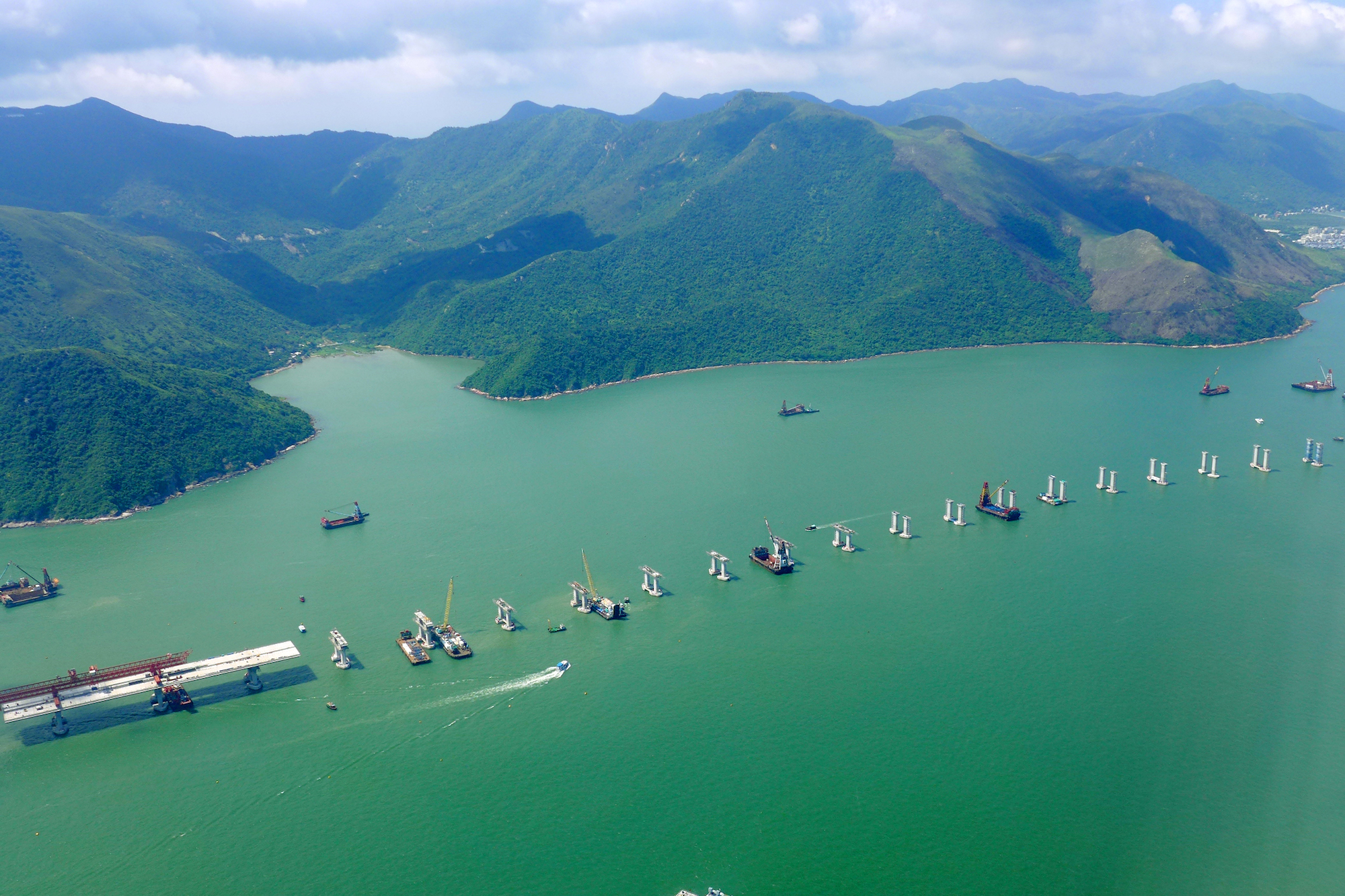 Chine - Pont Hong Kong-Zhuhai-Macao
