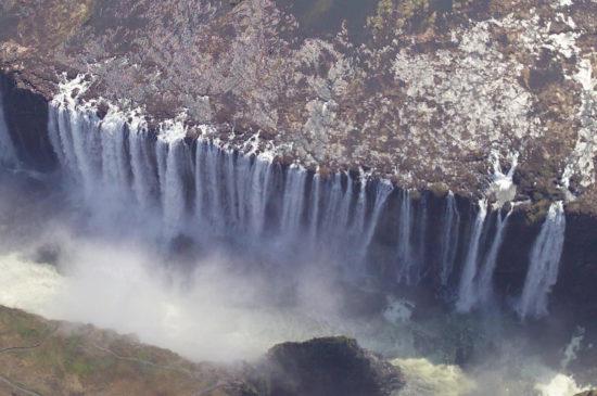 Chutes Victoria sur le Zambèze, Zambie, Zimbabwé