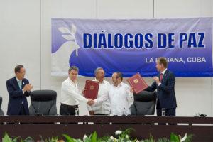 Colombie - signature de paix avec les FARC à Cuba