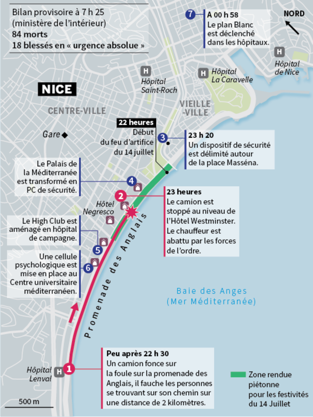 84 Morts Lors D Un Attentat 224 Nice Populationdata Net