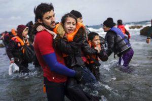 HCR réfugiés 2016, Grèce, Lesbos
