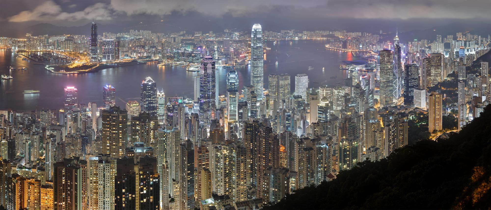 Hong Kong - Skyline de nuit