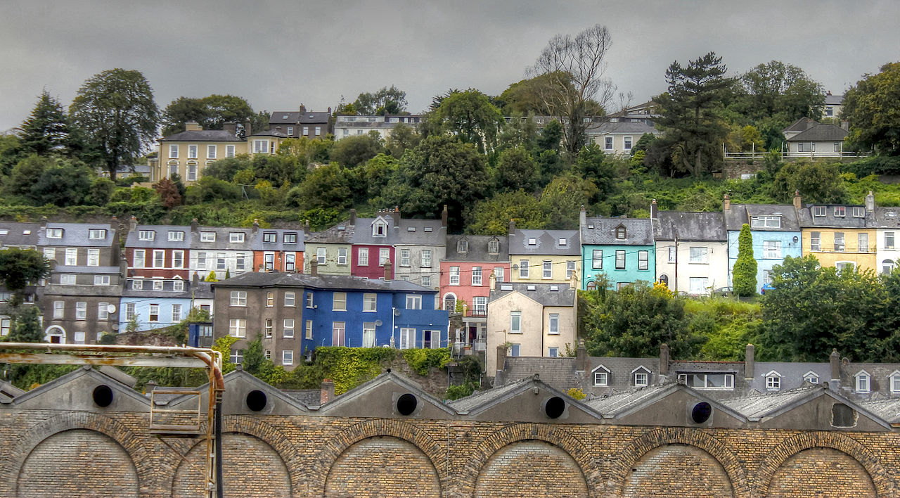 Irlande - Cork, maisons