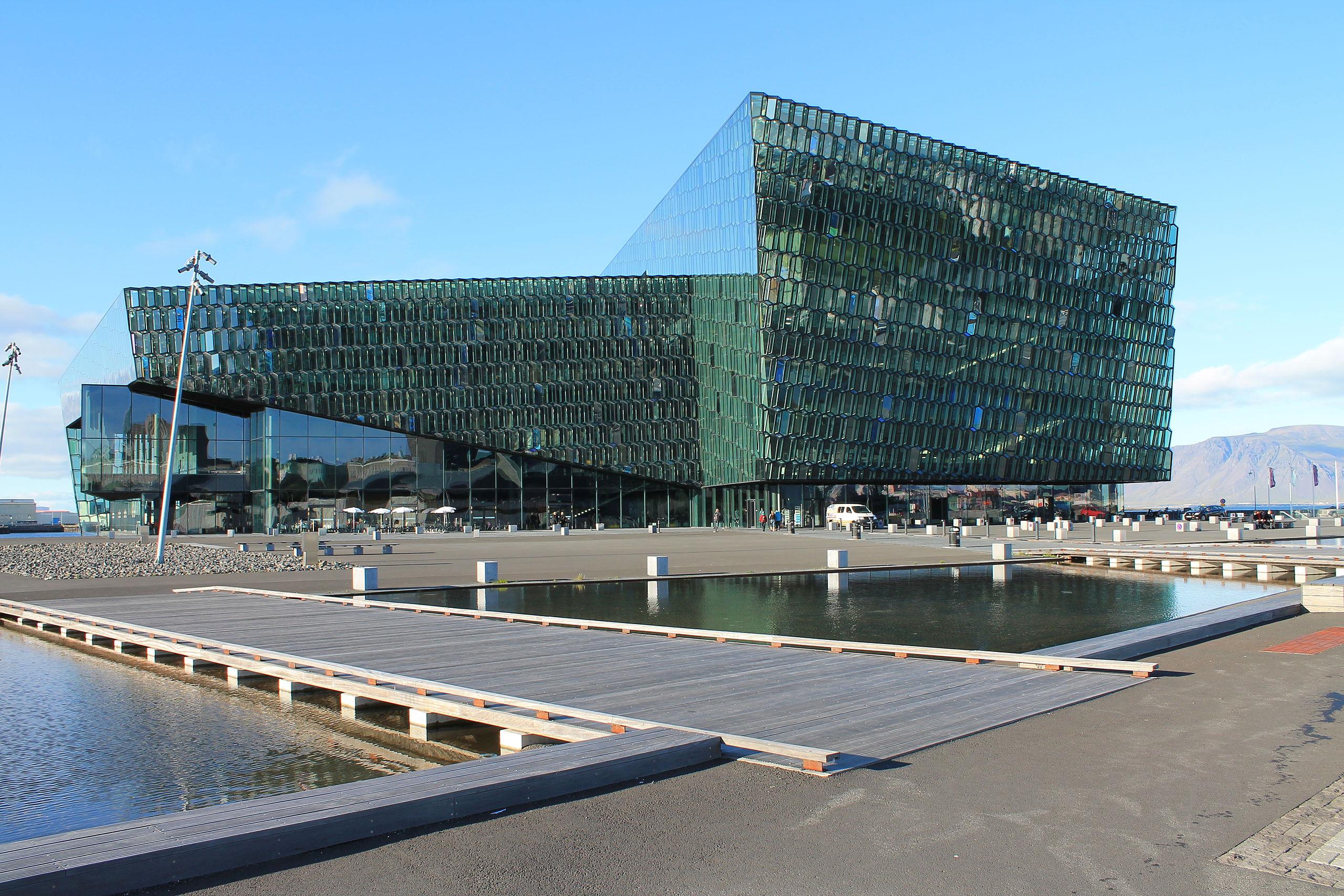 Reykjavik - Salle de concerts Harpa