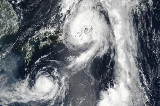 Japon - typhon Mindulle (août 2016)
