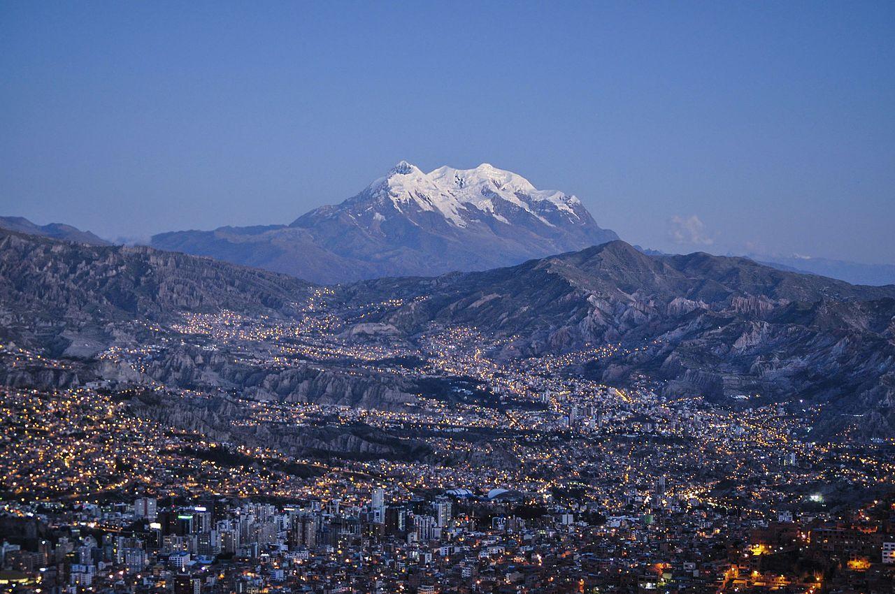 La Paz, capitale de la Bolivie