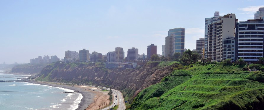 Miraflores Skyline (Lima, Pérou)