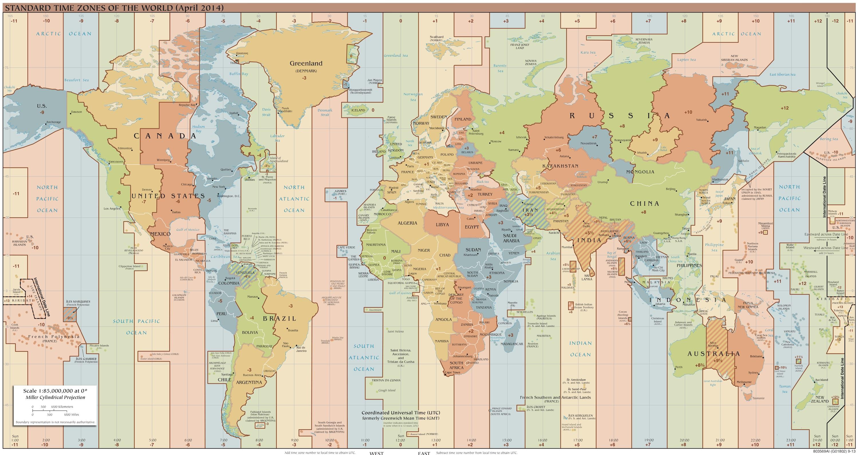 Monde   Fuseaux horaires • Carte • PopulationData.net